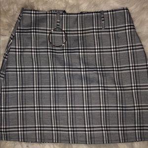 I.am.gia Madison plaid skirt